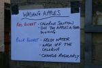 2012 Apple Day - this time with signs